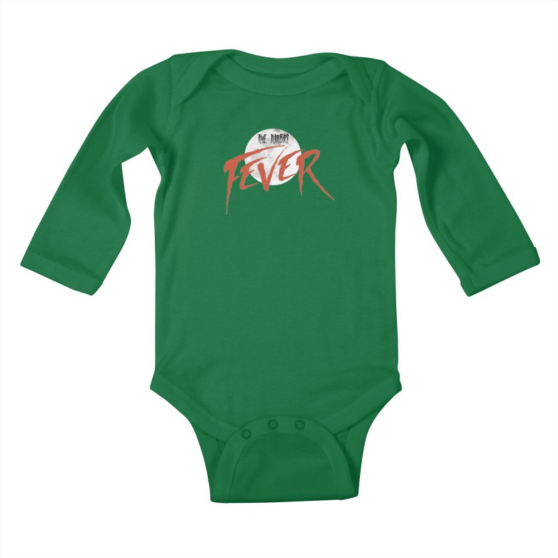 Fever Kids Baby Longsleeve Bodysuit by The Turbos Merch Stand