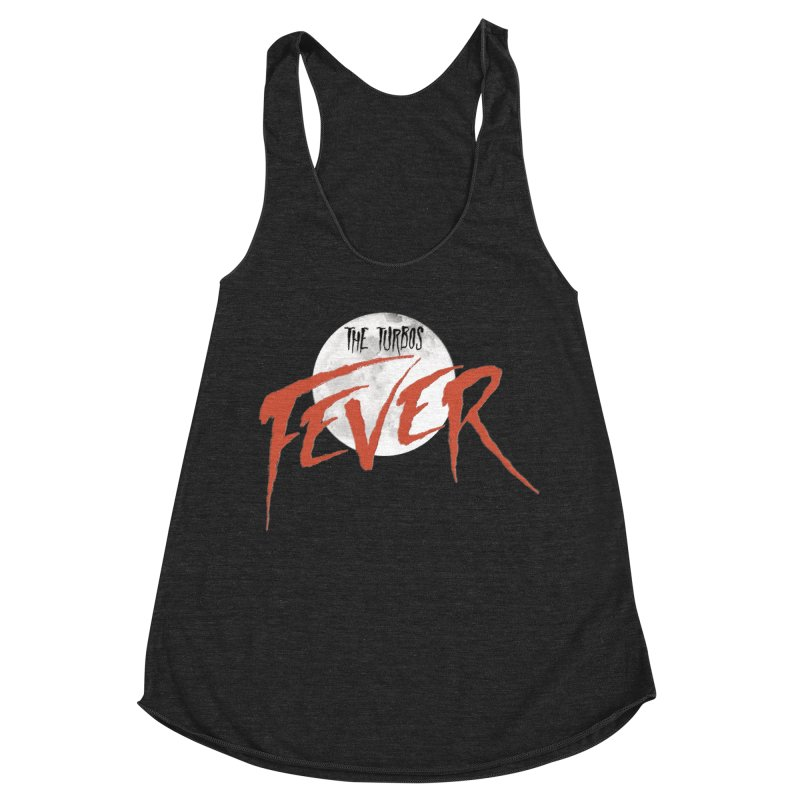 Fever Women's Racerback Triblend Tank by The Turbos Merch Stand