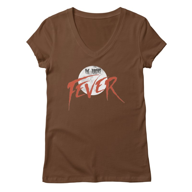 Fever Women's Regular V-Neck by The Turbos Merch Stand