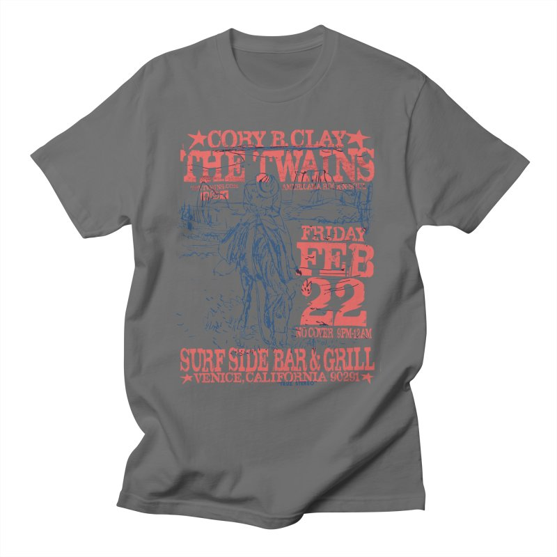Twains Surfside On the Trail Men's T-Shirt by The Twains' Artist Shop