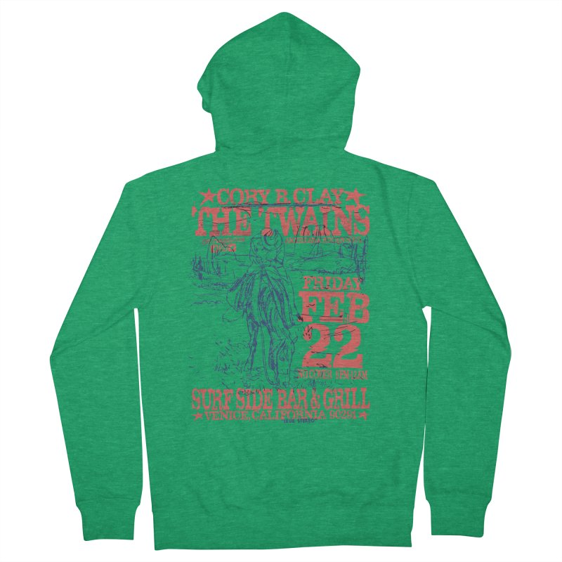 Twains Surfside On the Trail Women's Zip-Up Hoody by The Twains' Artist Shop