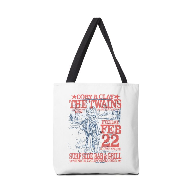 Twains Surfside On the Trail Accessories Bag by The Twains' Artist Shop
