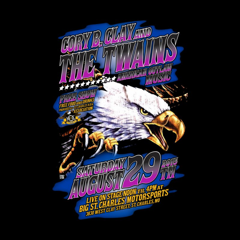 Twains Outlaw Eagle Men's T-Shirt by The Twains' Artist Shop