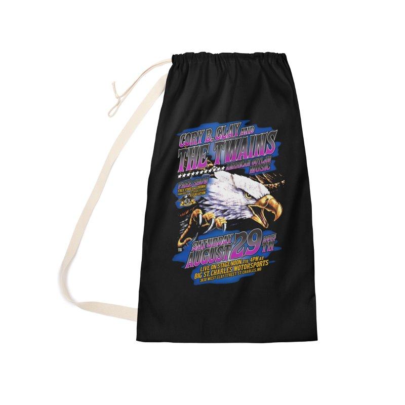 Twains Outlaw Eagle Accessories Bag by The Twains' Artist Shop