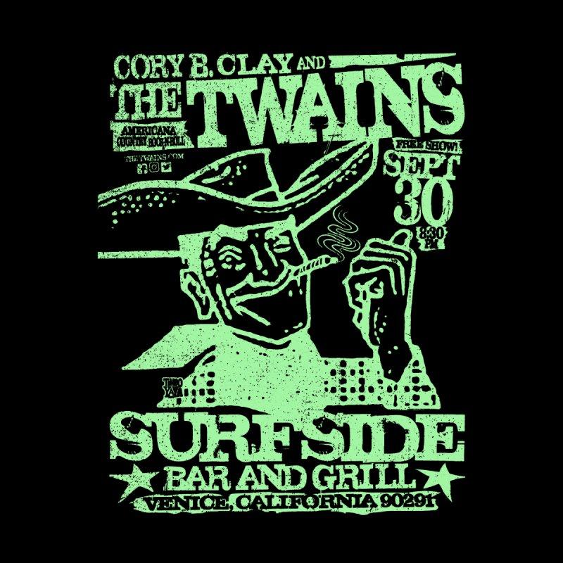 Twains Surfside Smoking Cowboy Too Home Duvet by The Twains' Artist Shop