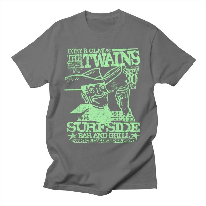 Twains Surfside Smoking Cowboy Too Men's T-Shirt by The Twains' Artist Shop