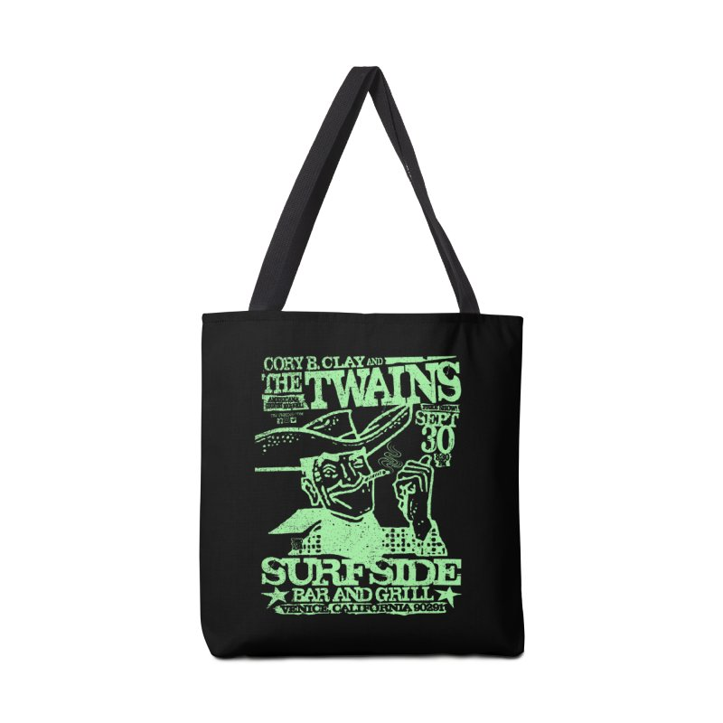 Twains Surfside Smoking Cowboy Too Accessories Bag by The Twains' Artist Shop