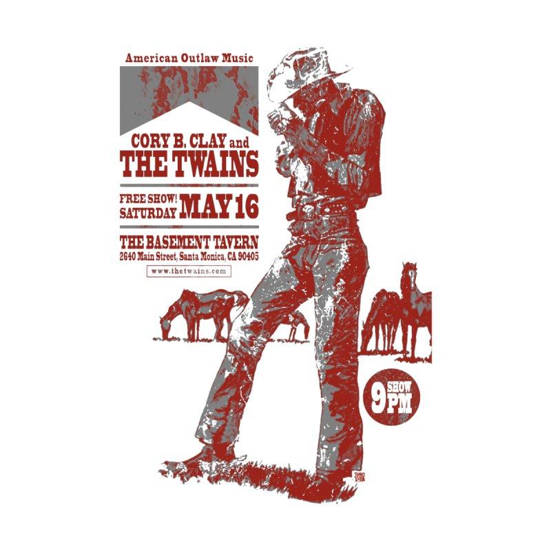 The Twains Marlboro Country Men's T-Shirt by The Twains' Artist Shop