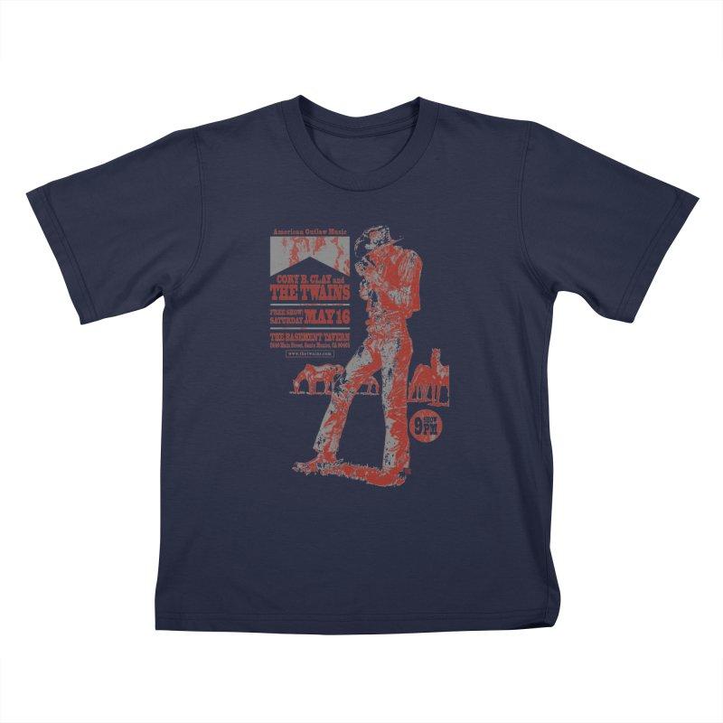The Twains Marlboro Country Kids T-Shirt by The Twains' Artist Shop
