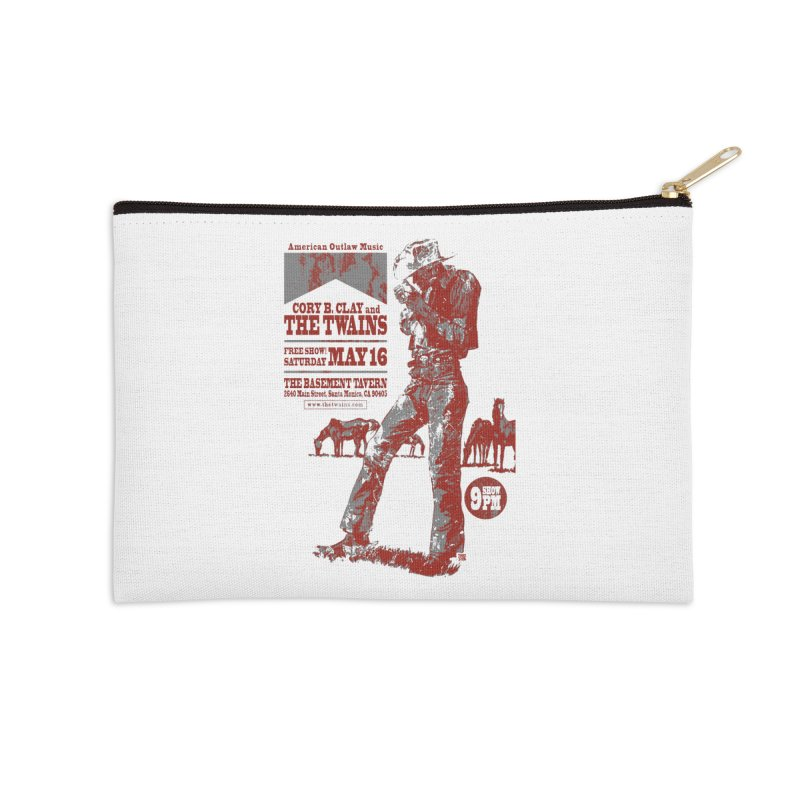 The Twains Marlboro Country Accessories Zip Pouch by The Twains' Artist Shop