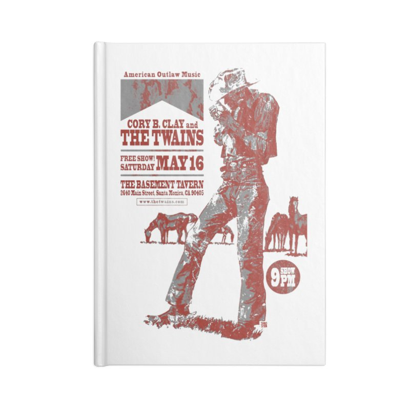 The Twains Marlboro Country Accessories Notebook by The Twains' Artist Shop