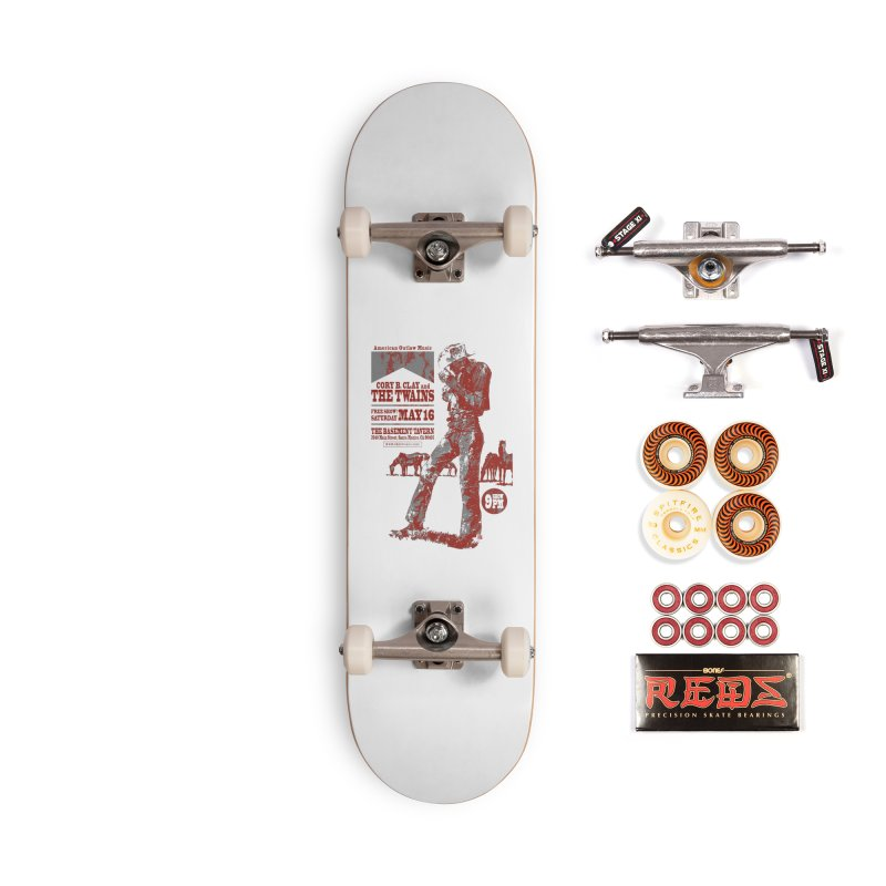 The Twains Marlboro Country Accessories Skateboard by The Twains' Artist Shop