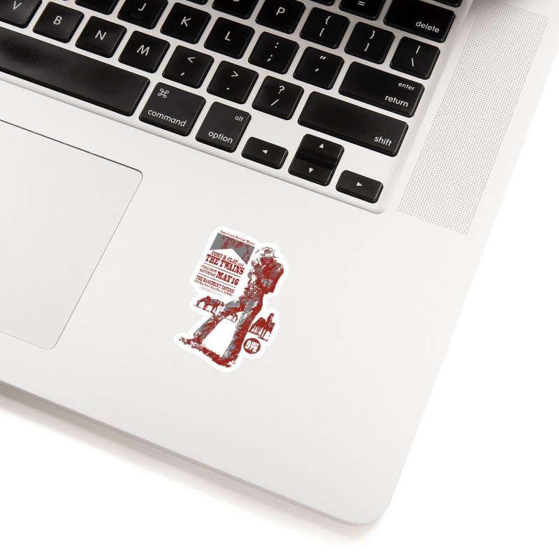 The Twains Marlboro Country Accessories Sticker by The Twains' Artist Shop