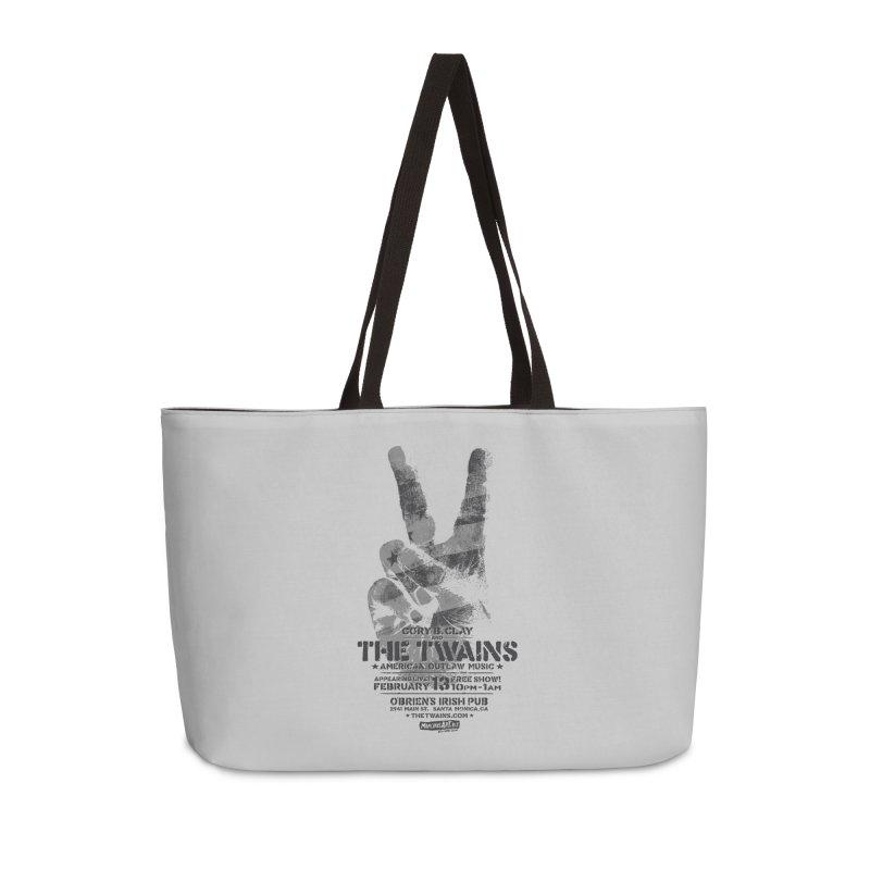Twains Peace & Music Accessories Bag by The Twains' Artist Shop