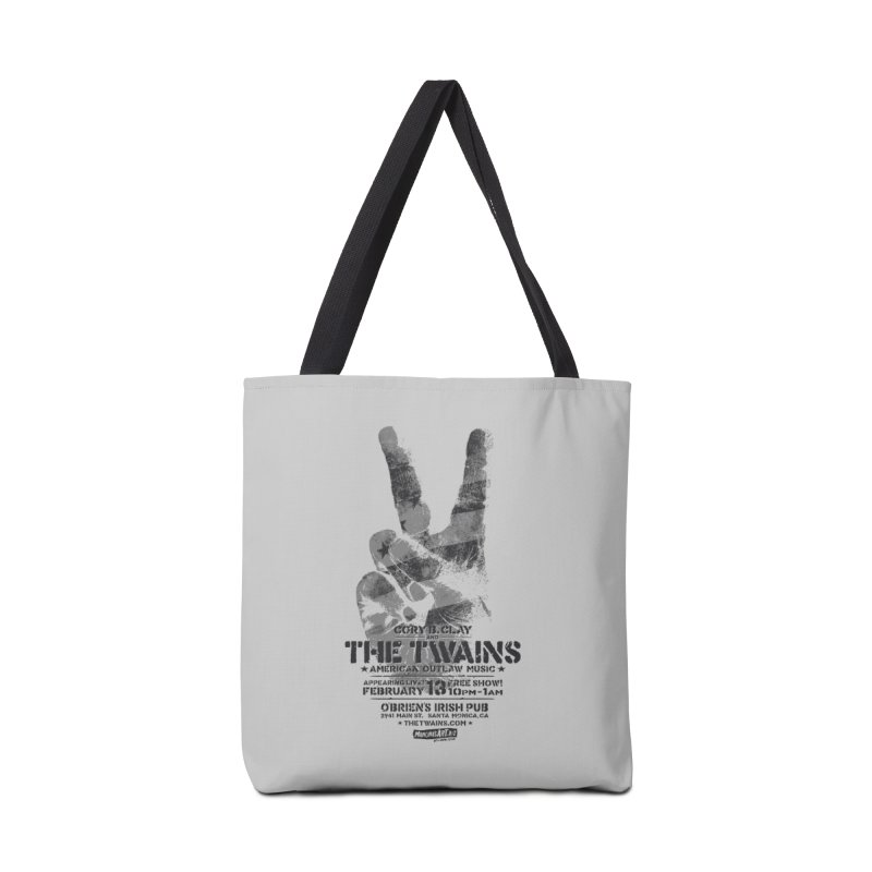 Twains Peace & Music Accessories Bag by The Twains' Artist Shop