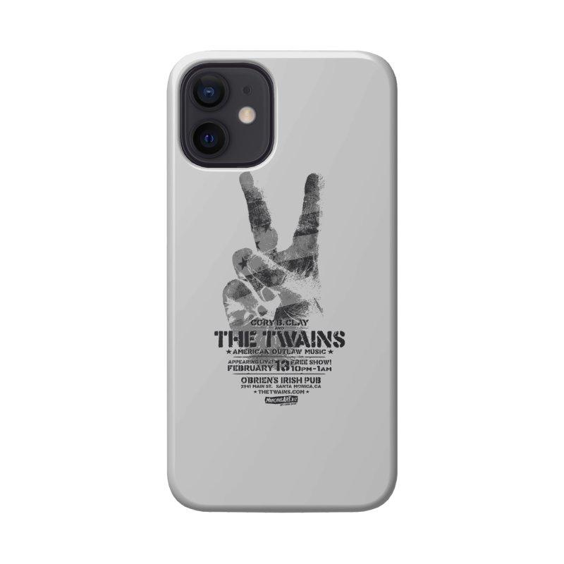 Twains Peace & Music Accessories Phone Case by The Twains' Artist Shop