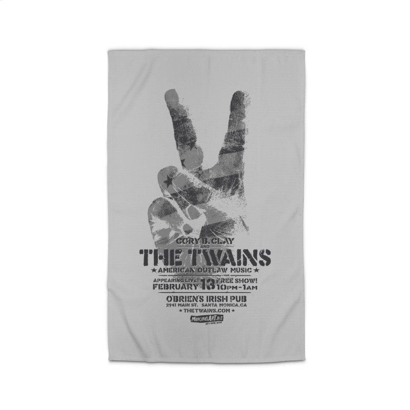 Twains Peace & Music Home Rug by The Twains' Artist Shop