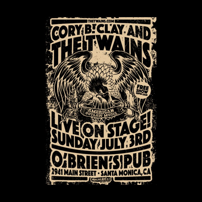 Twains O'Brien's Pub Screaming Eagle Accessories Bag by The Twains' Artist Shop