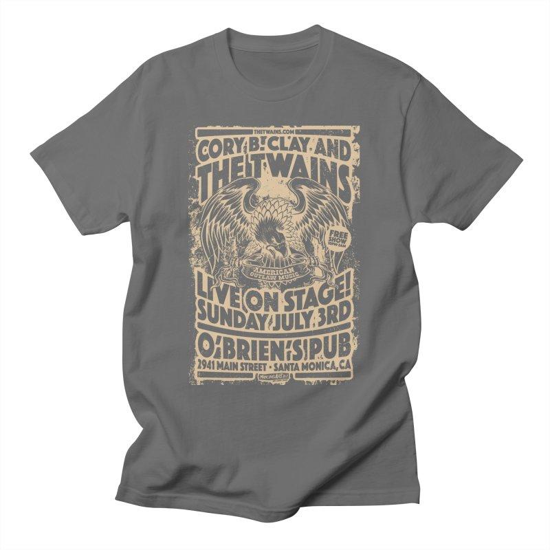 Twains O'Brien's Pub Screaming Eagle Men's T-Shirt by The Twains' Artist Shop
