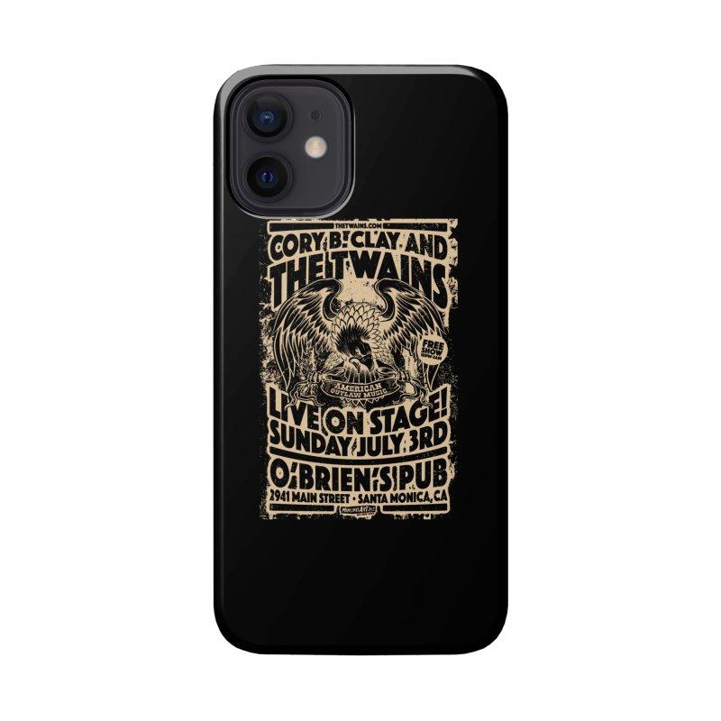 Twains O'Brien's Pub Screaming Eagle Accessories Phone Case by The Twains' Artist Shop