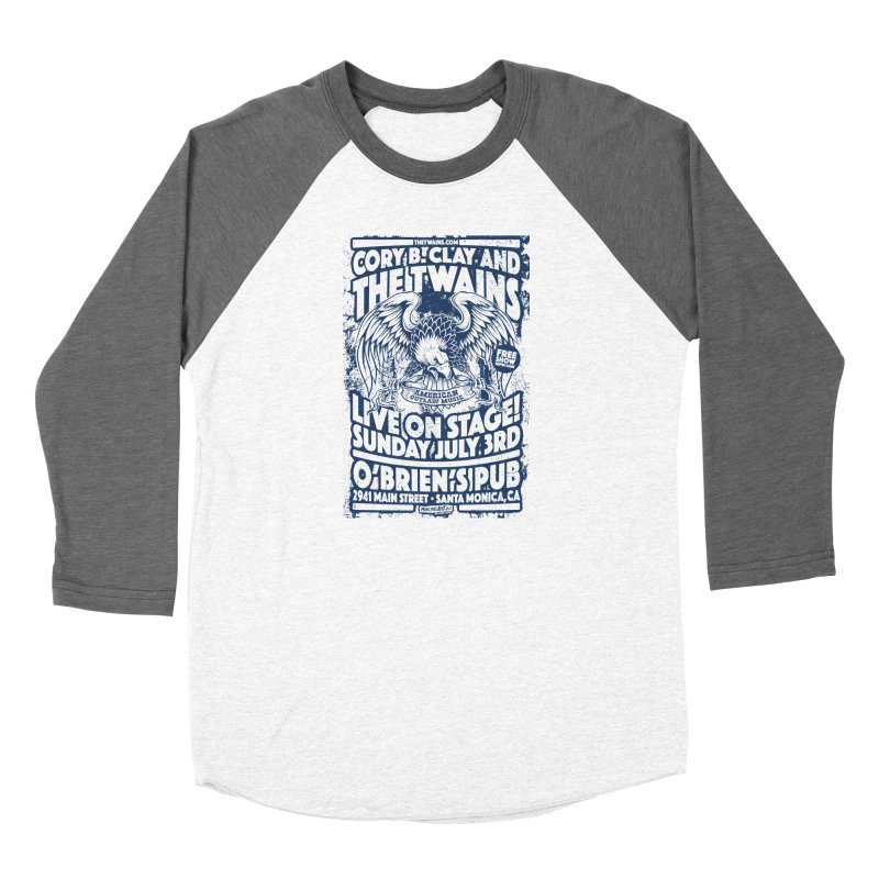 Twains Screaming Eagle Two Women's Longsleeve T-Shirt by The Twains' Artist Shop
