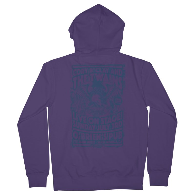 Twains Screaming Eagle Two Women's Zip-Up Hoody by The Twains' Artist Shop