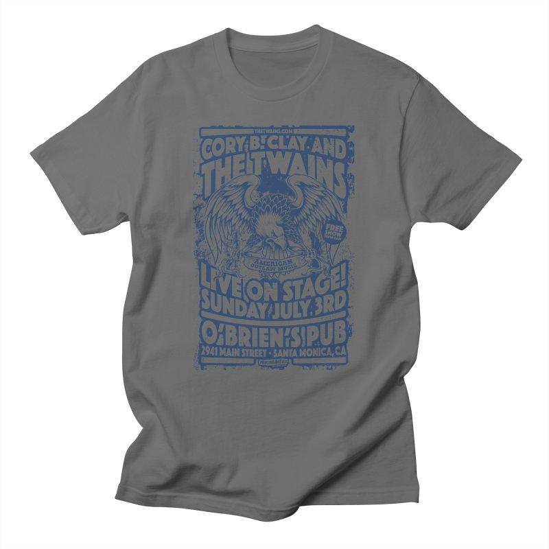 Twains Screaming Eagle Two Men's T-Shirt by The Twains' Artist Shop