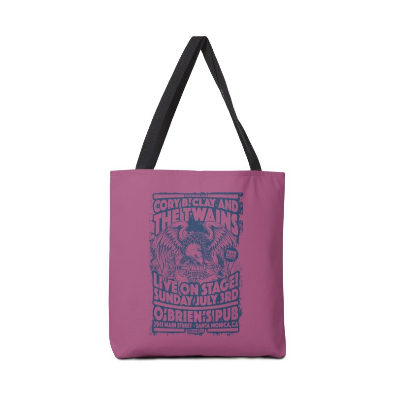 Twains Screaming Eagle Two Accessories Bag by The Twains' Artist Shop