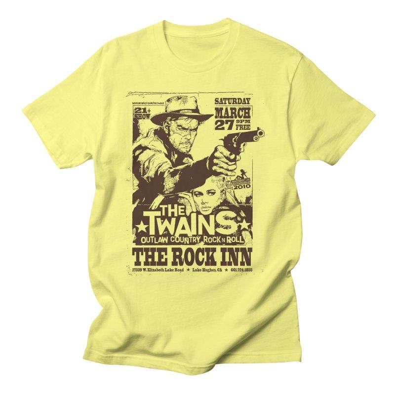 The Twains Rock Inn Men's T-Shirt by The Twains' Artist Shop