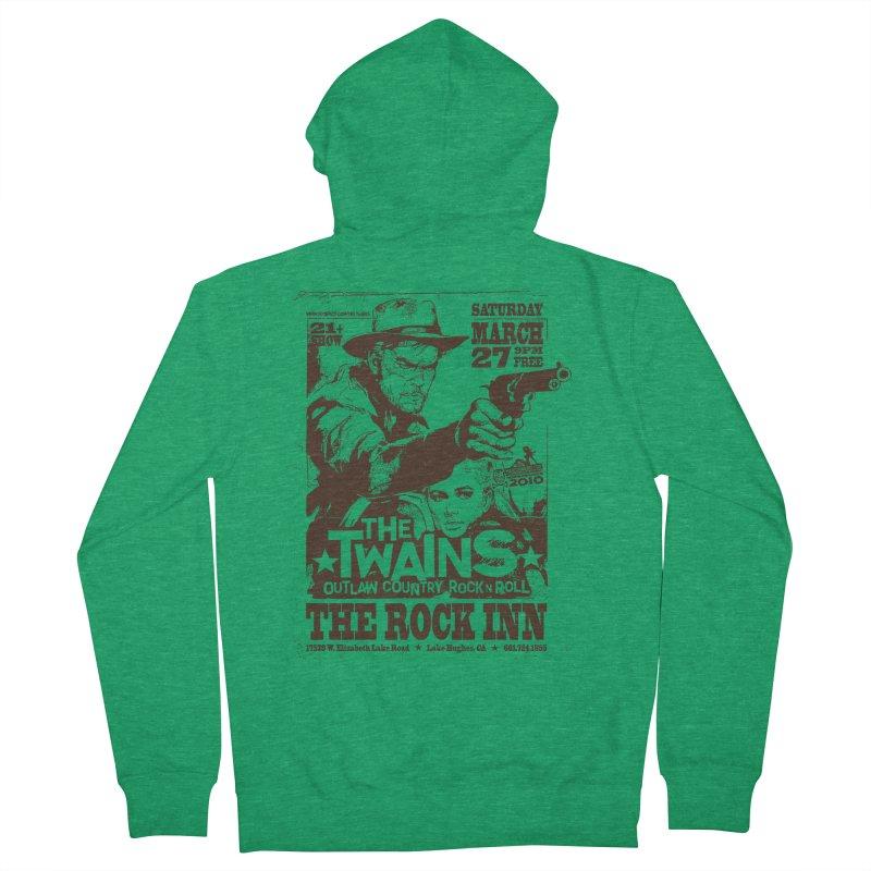 The Twains Rock Inn Men's Zip-Up Hoody by The Twains' Artist Shop