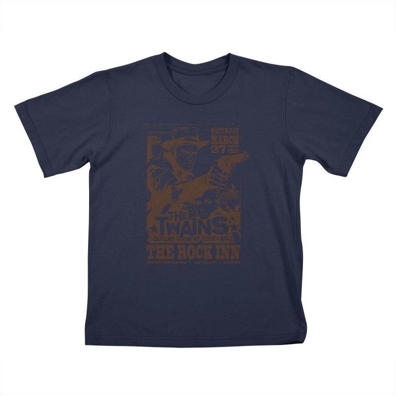 The Twains Rock Inn Kids T-Shirt by The Twains' Artist Shop