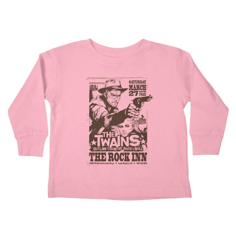The Twains Rock Inn Kids Toddler Longsleeve T-Shirt by The Twains' Artist Shop