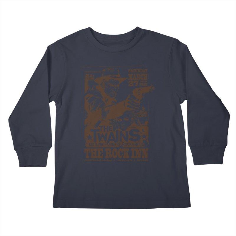The Twains Rock Inn Kids Longsleeve T-Shirt by The Twains' Artist Shop