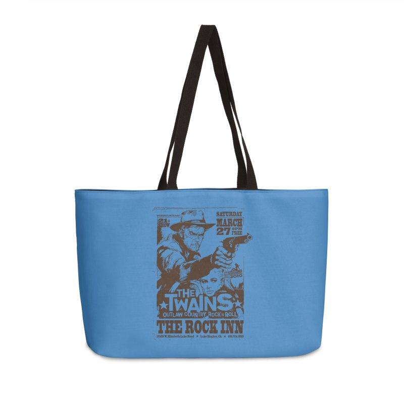 The Twains Rock Inn Accessories Bag by The Twains' Artist Shop