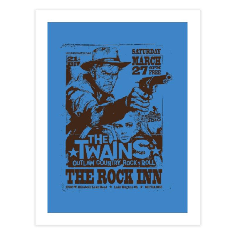 The Twains Rock Inn Home Fine Art Print by The Twains' Artist Shop
