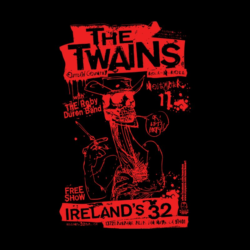 Ireland 32s Gonzo Party Women's Sweatshirt by The Twains' Artist Shop