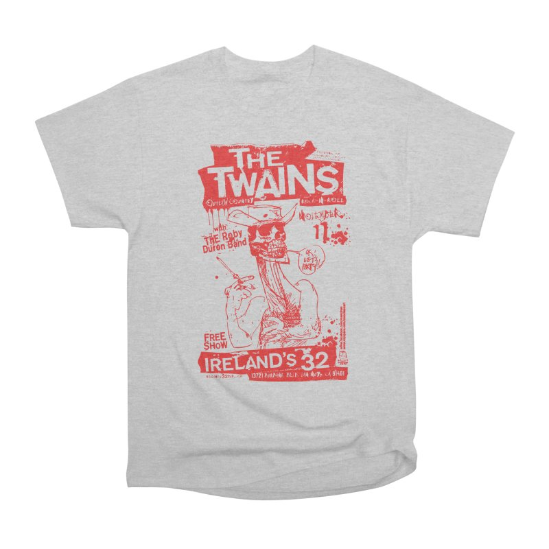 Ireland 32s Gonzo Party Men's T-Shirt by The Twains' Artist Shop