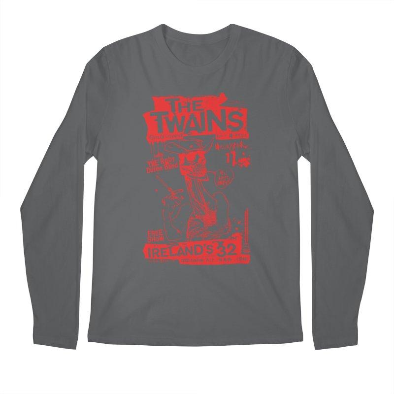 Ireland 32s Gonzo Party Men's Longsleeve T-Shirt by The Twains' Artist Shop