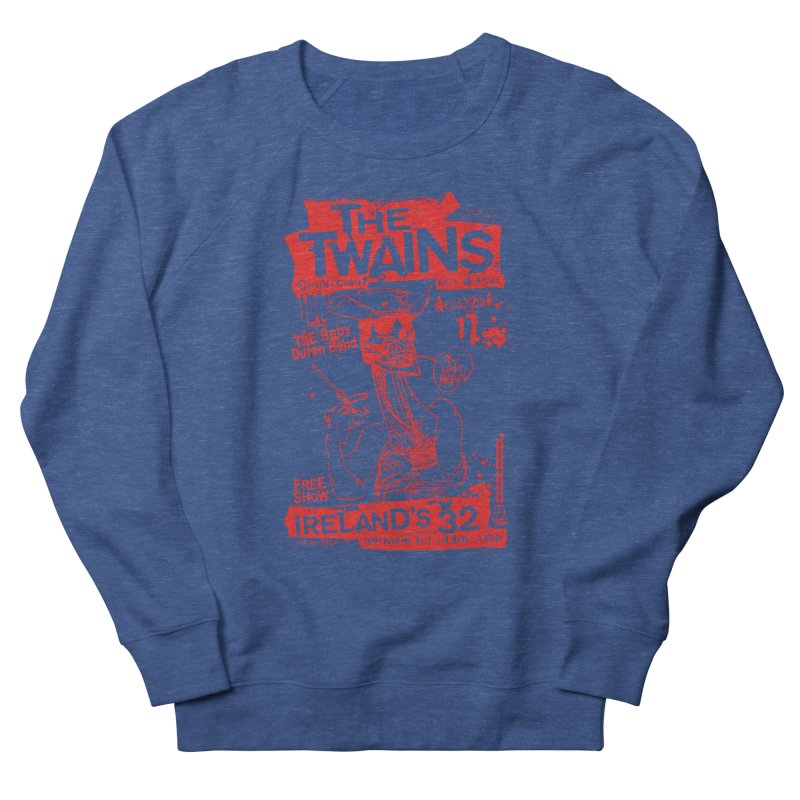 Ireland 32s Gonzo Party Men's Sweatshirt by The Twains' Artist Shop