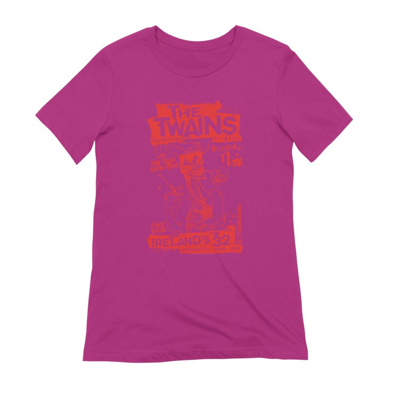 Ireland 32s Gonzo Party Women's T-Shirt by The Twains' Artist Shop