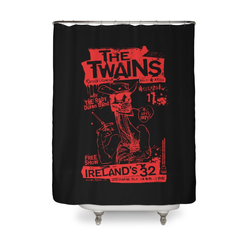Ireland 32s Gonzo Party Home Shower Curtain by The Twains' Artist Shop