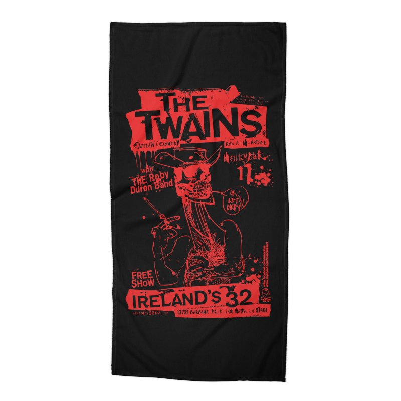 Ireland 32s Gonzo Party Accessories Beach Towel by The Twains' Artist Shop