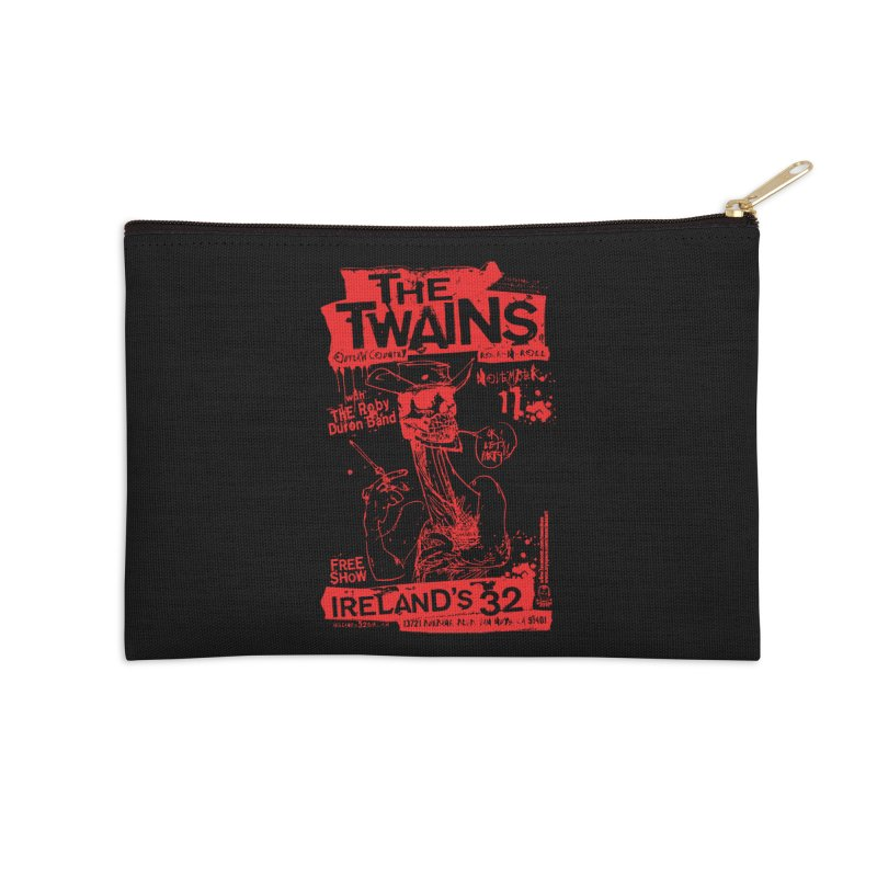 Ireland 32s Gonzo Party Accessories Zip Pouch by The Twains' Artist Shop
