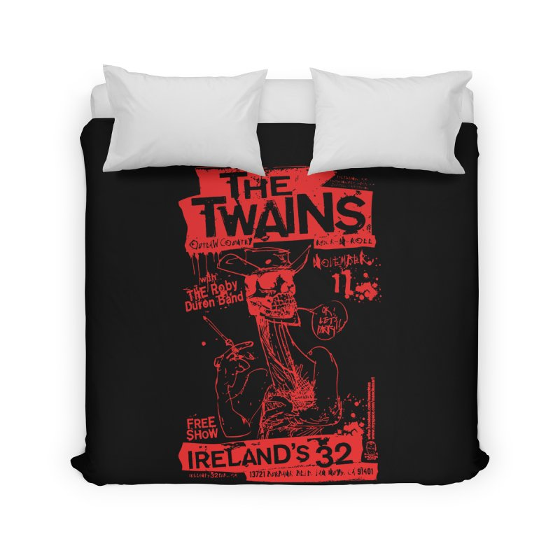 Ireland 32s Gonzo Party Home Duvet by The Twains' Artist Shop