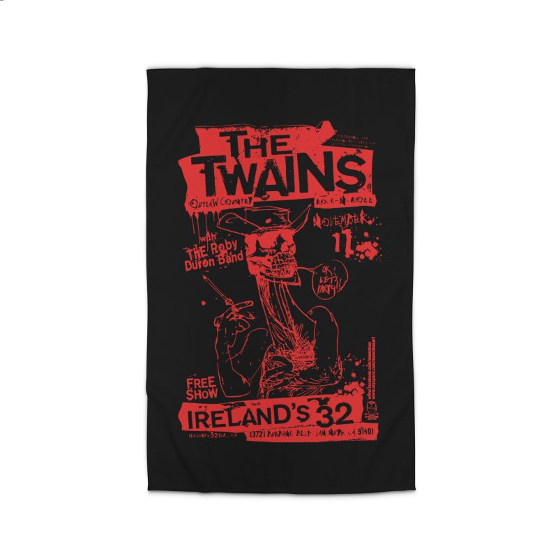 Ireland 32s Gonzo Party Home Rug by The Twains' Artist Shop