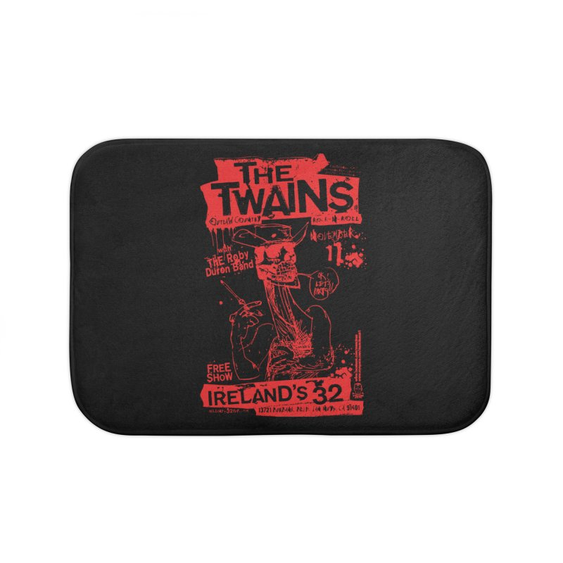 Ireland 32s Gonzo Party Home Bath Mat by The Twains' Artist Shop
