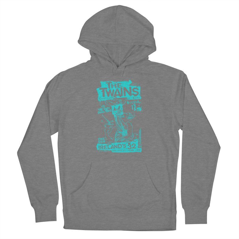 Ireland 32s Gonzo Party Two Women's Pullover Hoody by The Twains' Artist Shop