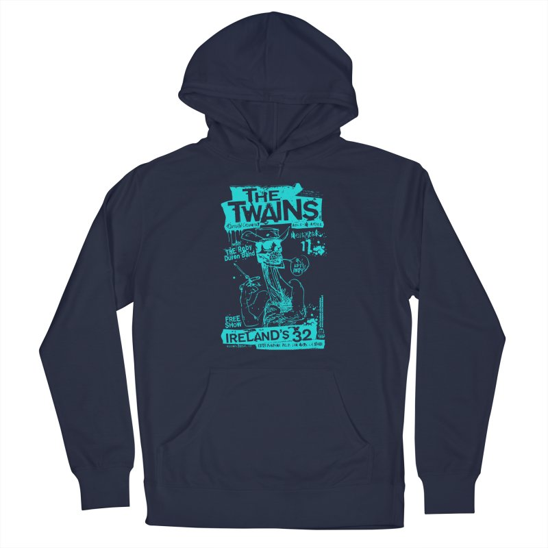 Ireland 32s Gonzo Party Two Men's Pullover Hoody by The Twains' Artist Shop
