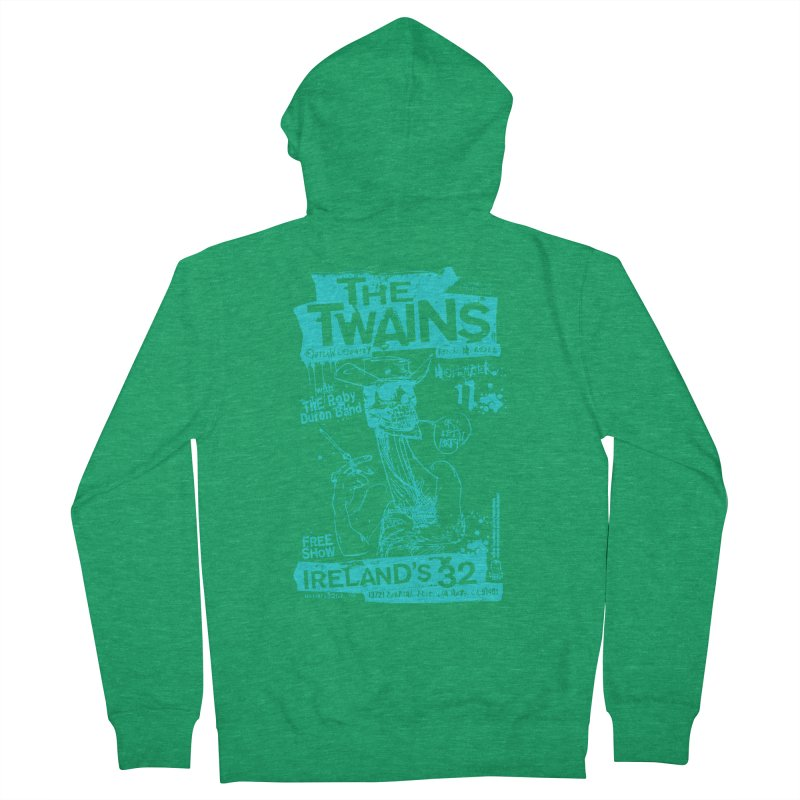 Ireland 32s Gonzo Party Two Women's Zip-Up Hoody by The Twains' Artist Shop