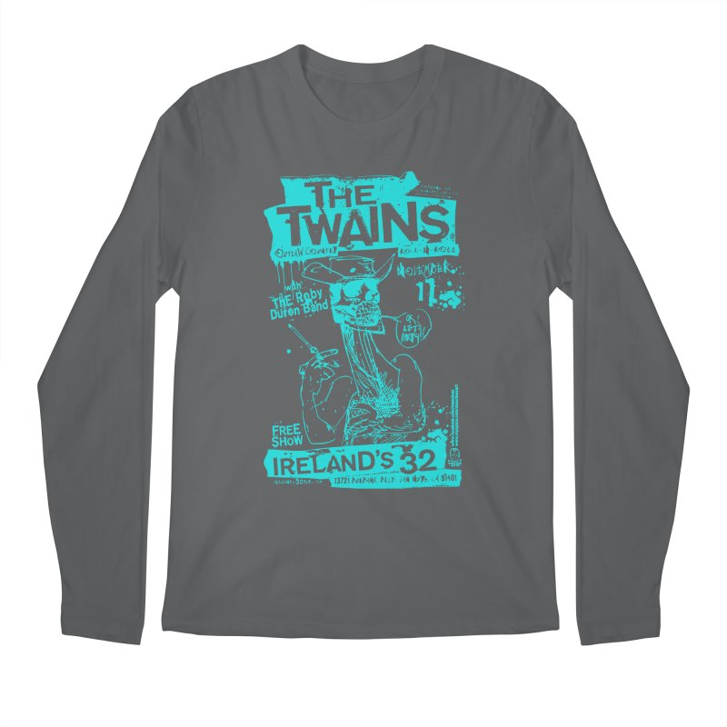 Ireland 32s Gonzo Party Two Men's Longsleeve T-Shirt by The Twains' Artist Shop